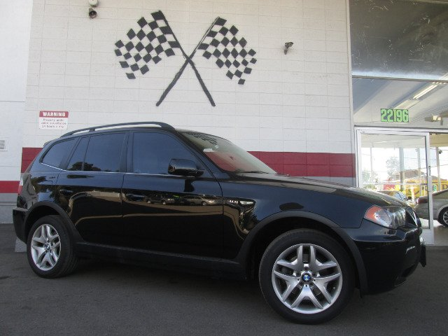 2006 BMW X3 30I AWD 4DR SUV black abs - 4-wheel air filtration antenna type anti-theft system