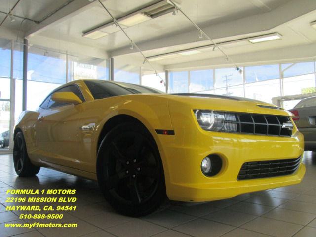 2010 CHEVROLET CAMARO SS 2DR COUPE W2SS yellow abs - 4-wheel air filtration alternator - 150 am