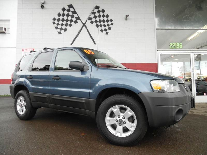 2005 FORD ESCAPE XLT 4DR SUV blue beautiful interior design gorgeous dashboard display super o