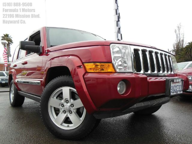 2006 JEEP COMMANDER LIMITED 2WD HEMI red 47l v8 hemi automatic limited moon roof rear moon roof