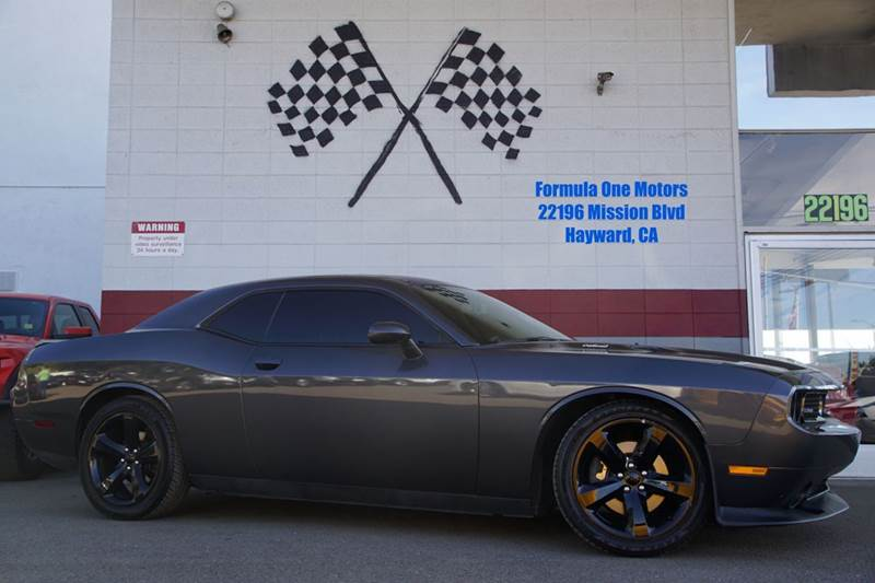 2013 DODGE CHALLENGER RT PLUS 2DR COUPE gray dodge is bringing classic back in a big way our in