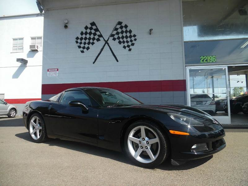 2005 CHEVROLET CORVETTE BASE 2DR COUPE black this unit is fantastic great running corvette sup