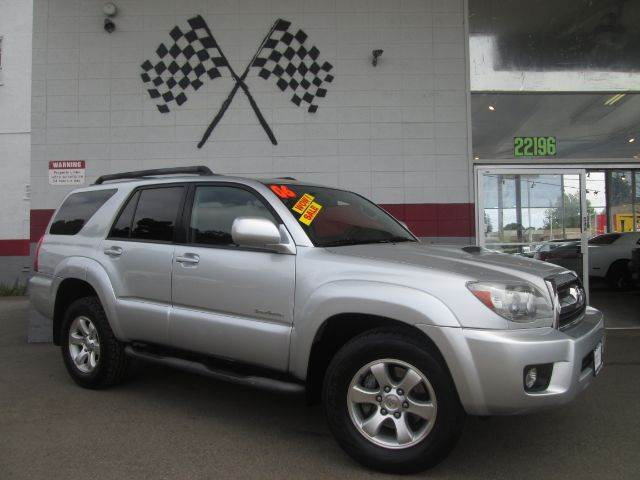 2006 TOYOTA 4RUNNER SPORT EDITION 4DR SUV silver this is a super clean toyota 4 runner its the