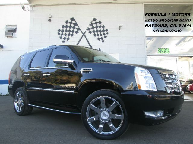 2008 CADILLAC ESCALADE AWD black 4wdawdabs brakesadjustable foot pedalsair conditioningalloy