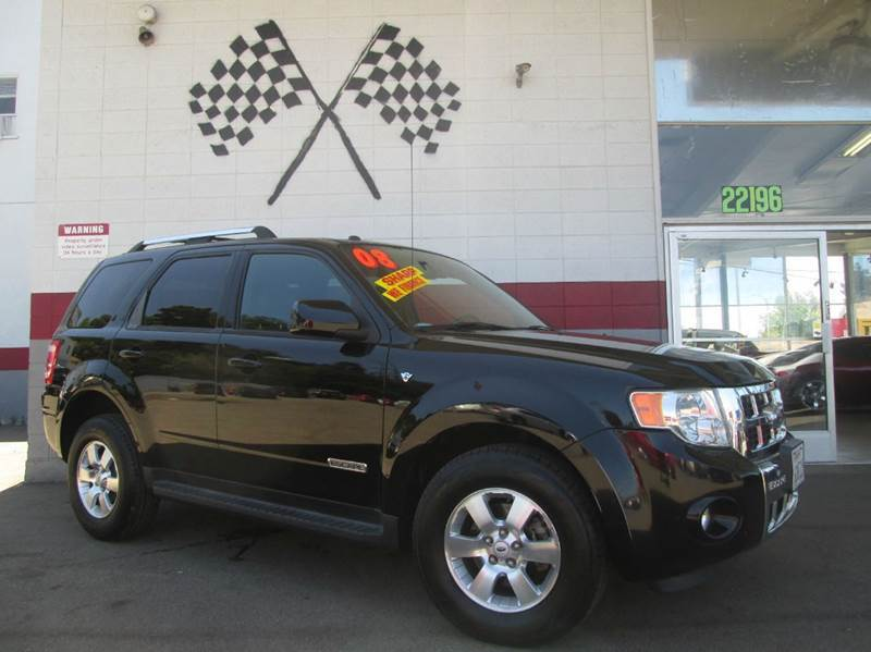 2008 FORD ESCAPE LIMITED 4DR SUV black this is a very nice ford escape limited editiongorgeous