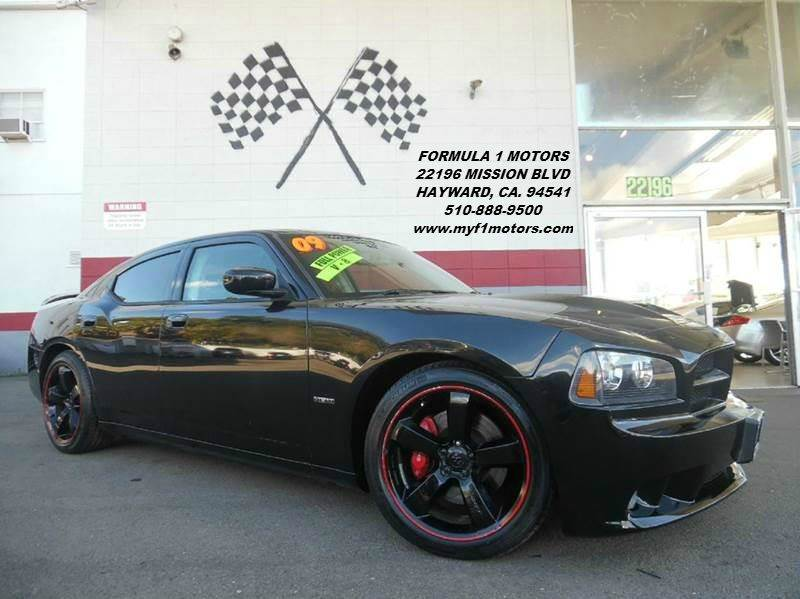 2009 DODGE CHARGER SRT8 4DR SEDAN black super clean dodge charger srt-8 black on black gorgeous