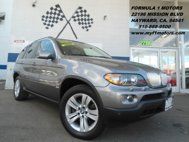 2005 BMW X5 44I AWD 4DR SUV gray abs - 4-wheel anti-theft system - alarm center console - front