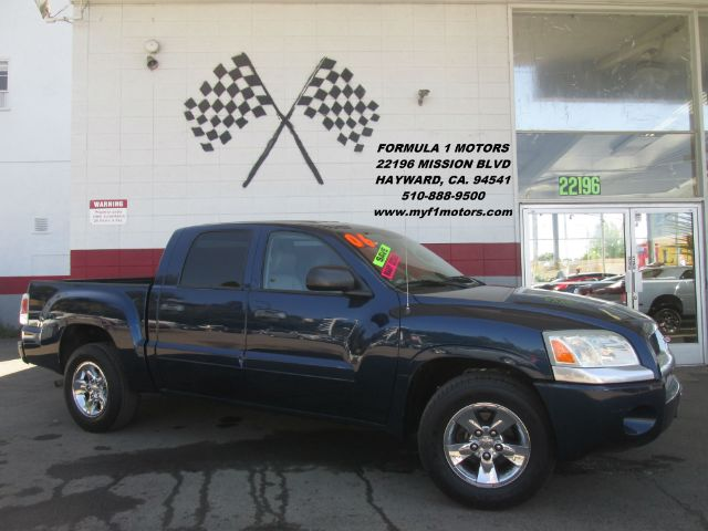 2006 MITSUBISHI RAIDER XLS 4DR DOUBLE CAB SB blue abs - rear airbag deactivation - occupant sens