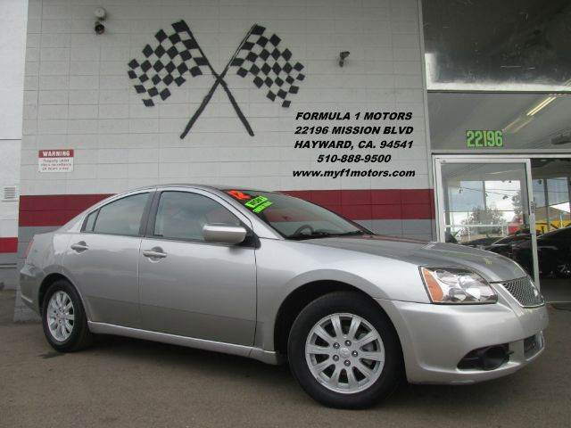 2012 MITSUBISHI GALANT FE 4DR SEDAN silver this mitsubishi galant is in great condition very nic