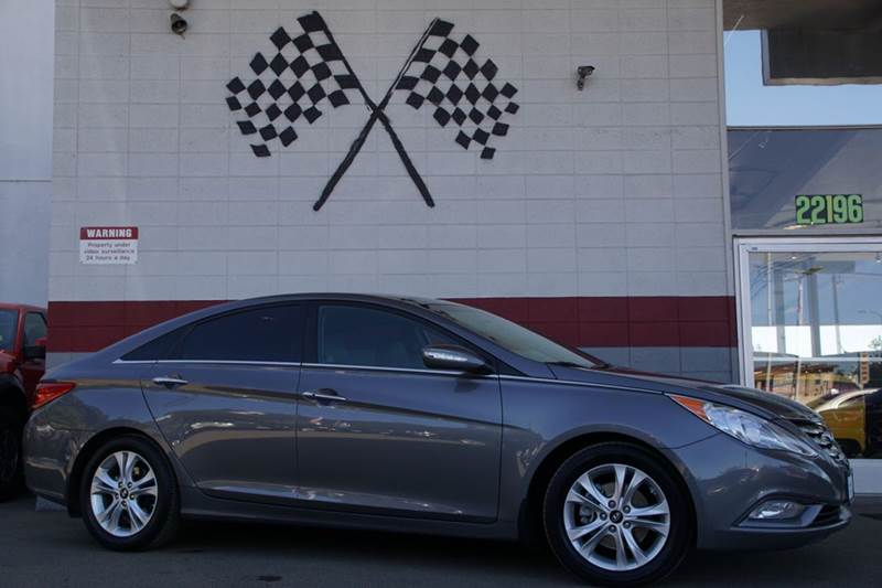 2013 HYUNDAI SONATA LIMITED 4DR SEDAN gray 2-stage unlocking doors abs - 4-wheel active head re