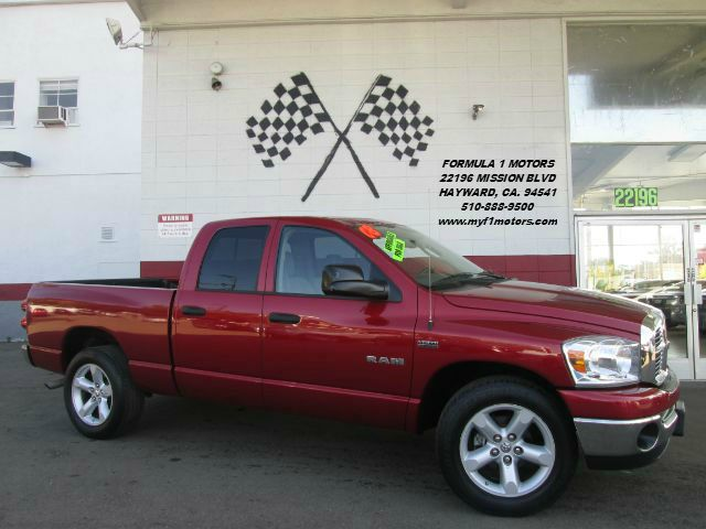 2008 DODGE RAM PICKUP 1500 BIG HORN EDITION SLT 4DR QUAD CA red this is the perfect work truck th