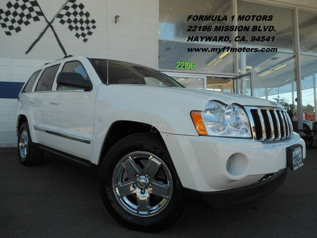 2007 JEEP GRAND CHEROKEE LIMITED 4WD white 4wdawdabs brakesadjustable foot pedalsair condition