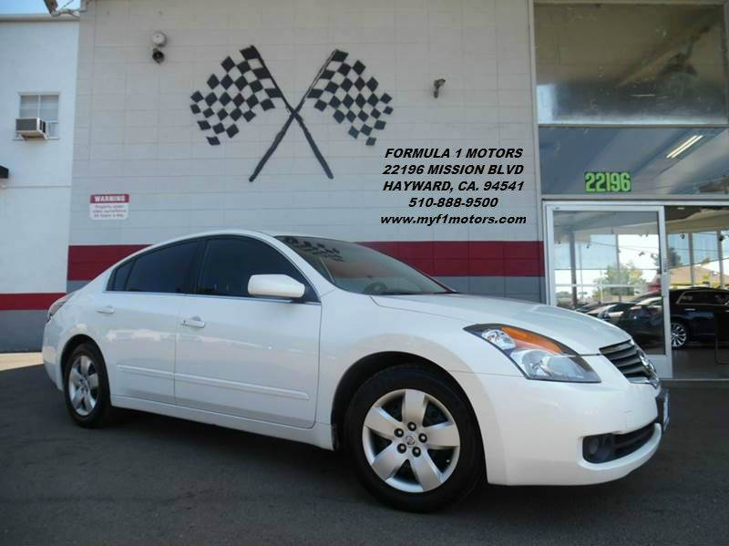 2008 NISSAN ALTIMA white 2-stage unlocking abs - 4-wheel active head restraints airbag deactiv