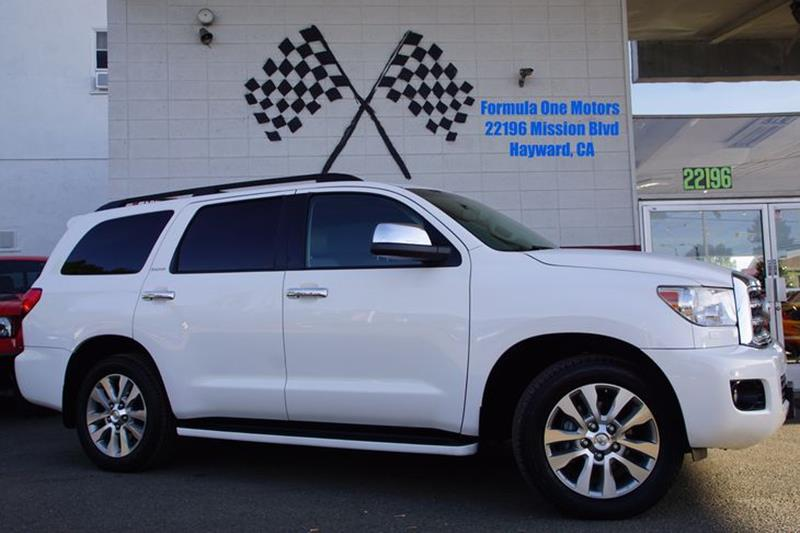 2012 TOYOTA SEQUOIA LIMITED 4X2 4DR SUV 57L V8 super white our distinguished 2012 toyota sequo