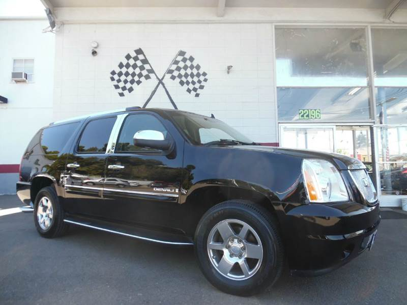 2007 GMC YUKON XL DENALI AWD 4DR SUV black this is a super clean gmc yukon denali all wheel driv