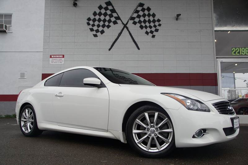 2013 INFINITI G37 COUPE JOURNEY 2DR COUPE moonlight white vin jn1cv6ek5dm923572 this is infiniti