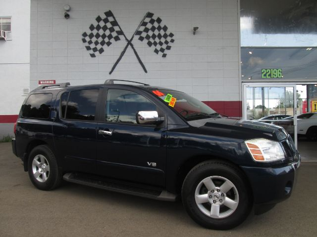 2006 NISSAN ARMADA LE 4DR SUV blue abs - 4-wheel adjustable pedals - power air suspension - rea