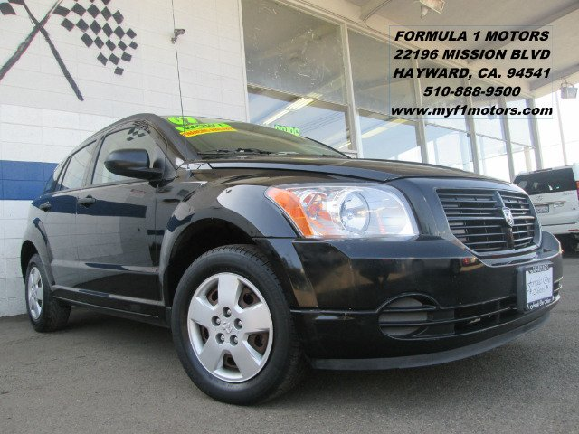 2007 DODGE CALIBER SE black air conditioningamfm radioanti-brake system non-abs  4-wheel abs
