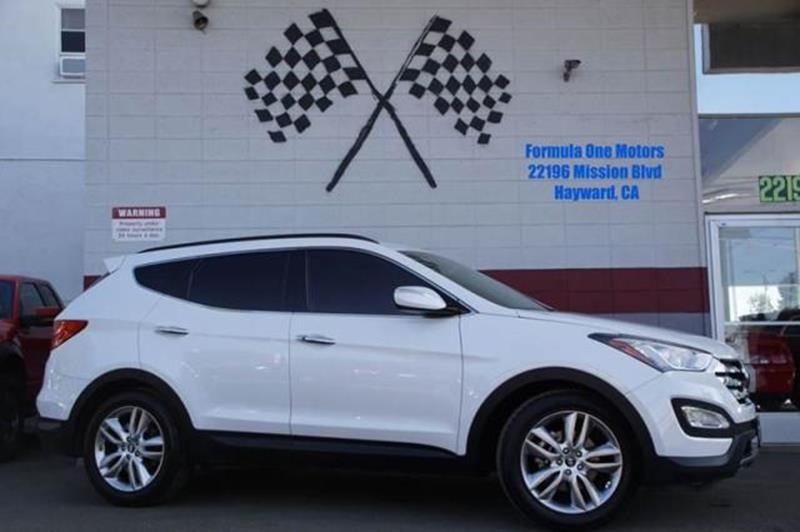 2013 HYUNDAI SANTA FE SPORT 20T 4DR SUV frost white pearl feast your eyes upon the groundbreakin