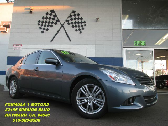 2010 INFINITI G37 G37 blue abs brakesair conditioningalloy wheelsamfm radioanti-brake system