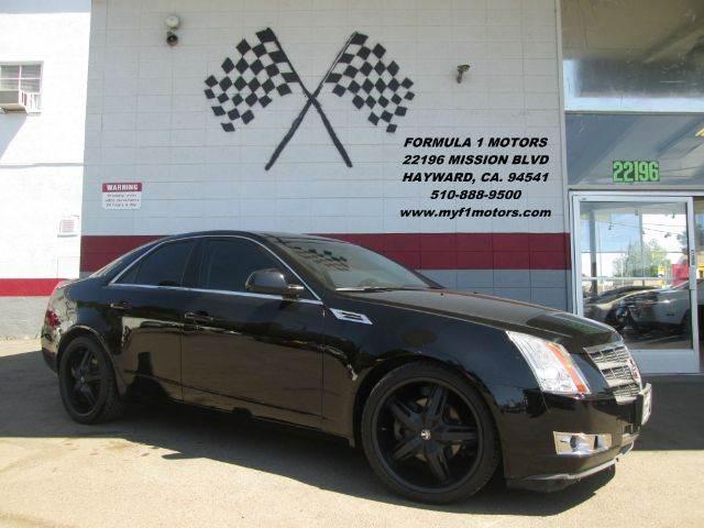 2008 CADILLAC CTS 36L V6 SEDAN black super clean cadillac cts black on black on black pr