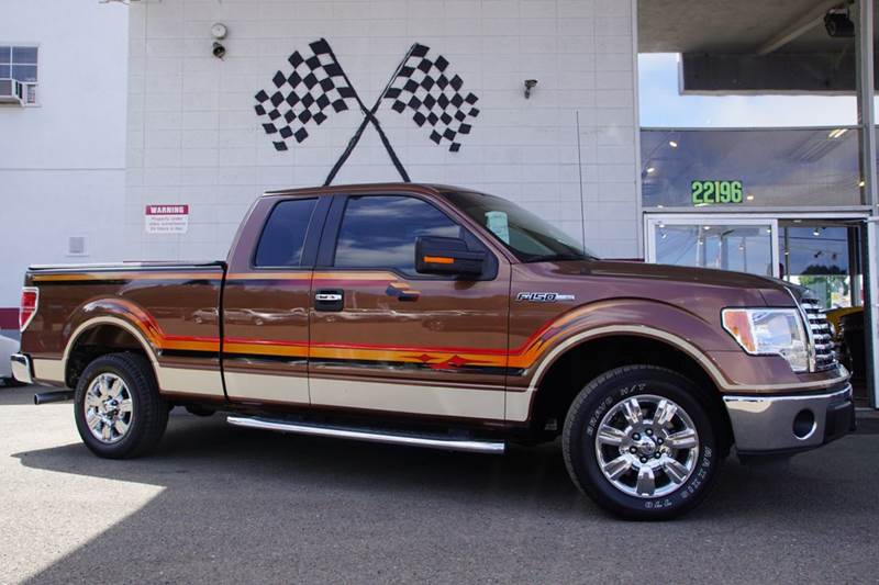 2011 FORD F-150 XLT 4X2 4DR SUPERCAB STYLESIDE 6 golden bronze metallic 2-stage unlocking doors