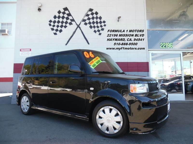 2006 SCION XB 4DR WAGON WAUTOMATIC black this is a very nice scion tc dependable vehicle great