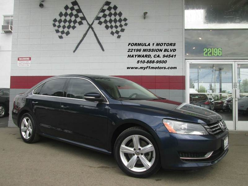 2012 VOLKSWAGEN PASSAT SE PZEV 4DR SEDAN 6A blue abs - 4-wheel air filtration airbag deactivati