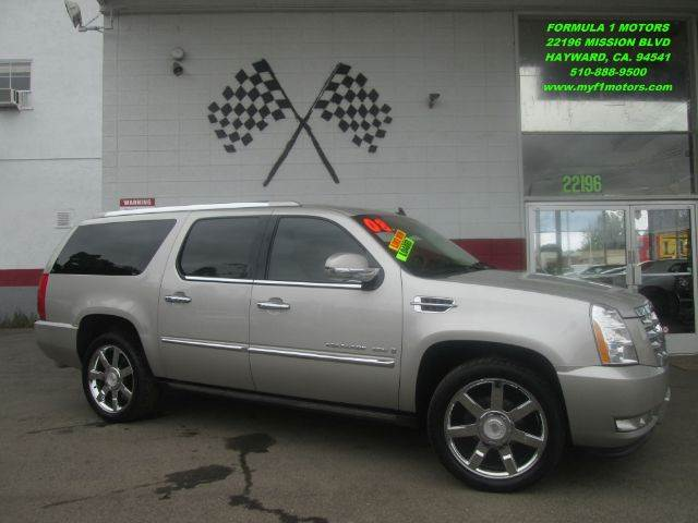2008 CADILLAC ESCALADE ESV AWD 4DR SUV beige loaded leather - moon roof - two dvd - power lift
