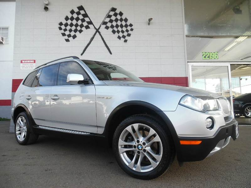 2008 BMW X3 30SI AWD 4DR SUV silver super clean bmw x3  gorgeous leather interior navigation