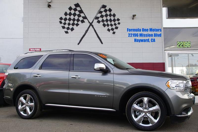 2012 DODGE DURANGO CITADEL 4DR SUV maximum steel metallic citadel is known as the flagship for du