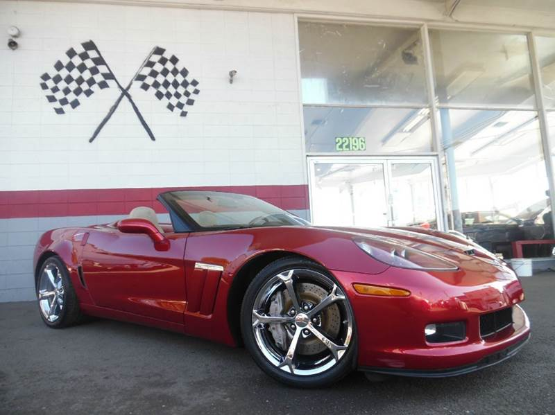 2010 CHEVROLET CORVETTE Z16 GRAND SPORT 2DR CONVERTIBLE red beautiful car with super low miles an