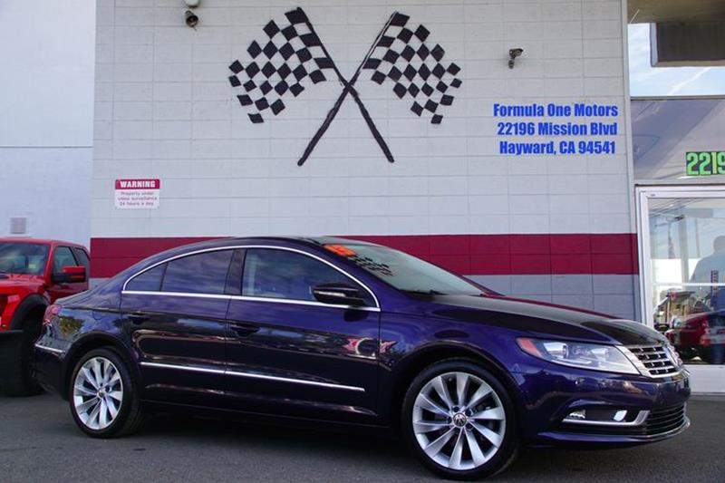 2013 VOLKSWAGEN CC VR6 LUX 4DR SEDAN night blue metallic our incredible 2013 volkswagen cc vr is
