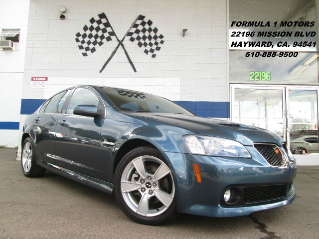 2009 PONTIAC G8 GT green this vehicle can only be sold out of the state of california  abs brakes
