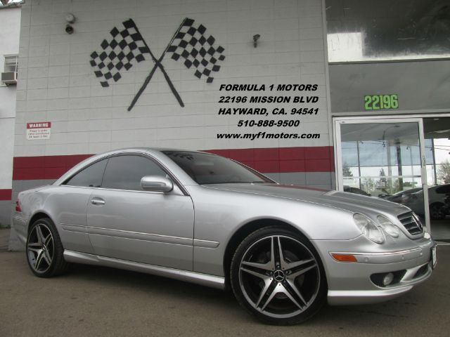 2002 MERCEDES-BENZ CL-CLASS CL55 AMG 2DR COUPE silver loaded - leather - moon roof - navigation -