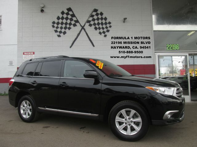 2011 TOYOTA HIGHLANDER SE AWD 4DR SUV black 4wd type - full time abs - 4-wheel airbag deactivat