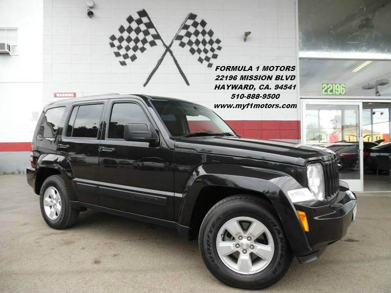2011 JEEP LIBERTY SPORT 4X2 4DR SUV black this is a very nice jeep liberty sporty great color c