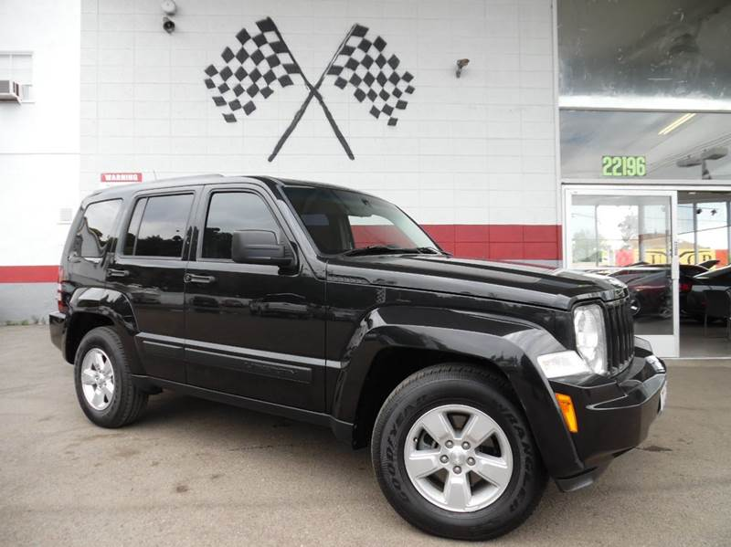 2011 JEEP LIBERTY SPORT 4X2 4DR SUV black 2-stage unlocking - remote abs - 4-wheel active head
