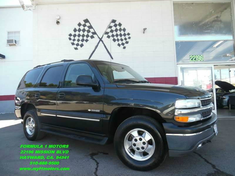 2003 CHEVROLET TAHOE LS 4WD 4DR SUV grey this is a very nice chevy tahoe in excellent condition