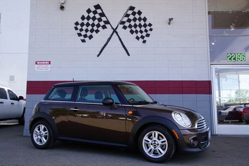 2013 MINI HARDTOP COOPER 2DR HATCHBACK hot chocolate metallic 2-stage unlocking doors abs - 4-wh