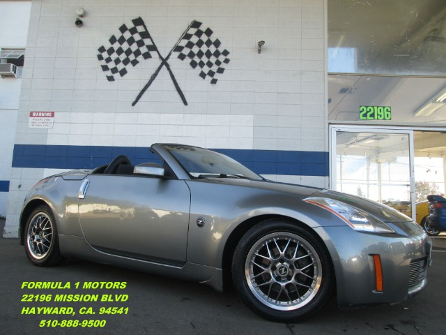 2005 NISSAN 350Z ENTHUSIAST ROADSTER pewter brand new black convertible top  extra low miles  th