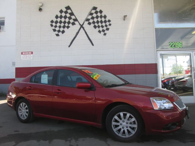 2012 MITSUBISHI GALANT FE 4DR SEDAN red 2-stage unlocking - remote abs - 4-wheel airbag deactiv