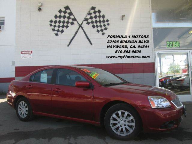 2012 MITSUBISHI GALANT FE 4DR SEDAN red this is a very nice 4 door sedan spacious inside depend