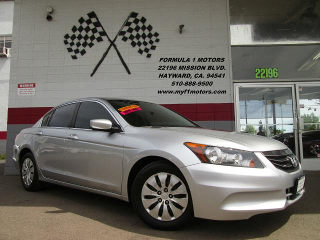 2012 HONDA ACCORD LX 4DR SEDAN 5A silver this is a very nice honda accord really low mileage exc
