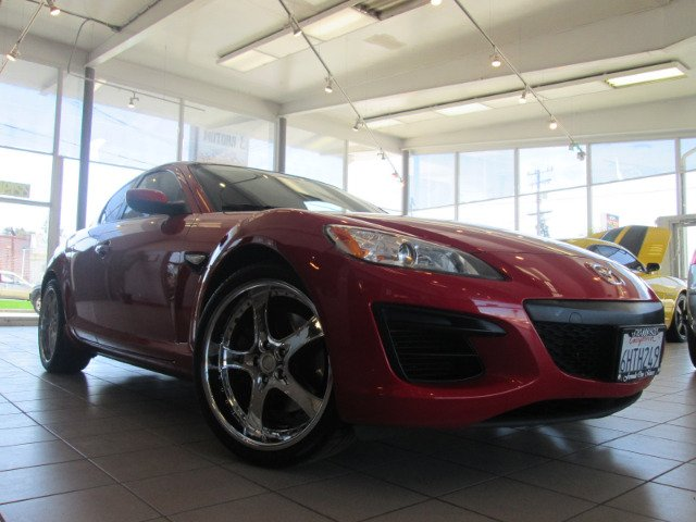 2009 MAZDA RX-8 SPORT 4DR COUPEWLEV EMISSION EQ red abs - 4-wheel antenna type - element anti-t