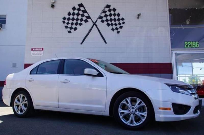 2012 FORD FUSION SE 4DR SEDAN white suede take a look at our impressive 2012 ford fusion se in be