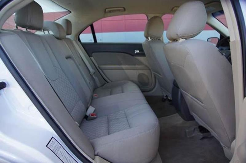 2012 FORD FUSION SE 4DR SEDAN white suede 2-stage unlocking doors abs - 4-wheel air filtration
