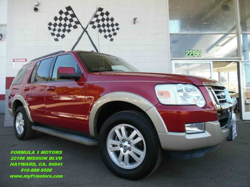 2010 FORD EXPLORER EDDIE BAUER 4X4 4DR SUV burgundy this is a very nice ford explorer perfect fo