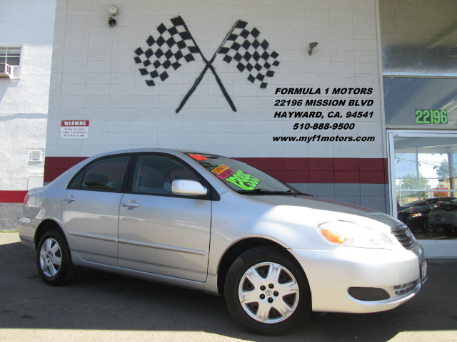 2006 TOYOTA COROLLA CE 4DR SEDAN 18L I4 4A silver this toyota corolla is in great condition it