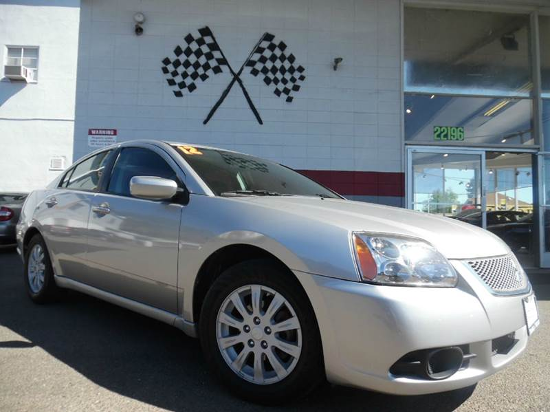 2012 MITSUBISHI GALANT FE 4DR SEDAN silver smooth running car with great handling very dependa
